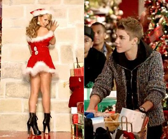 mc santa outfit back and boots