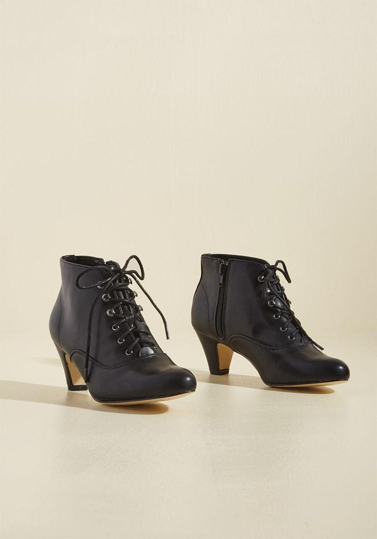 #AdoreWe #ModCloth - #Chelsea Crew Chelsea Crew Familiar Thrill Bootie in  Licorice in