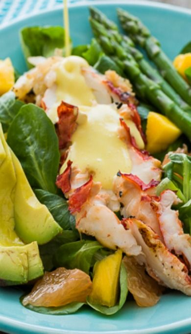 Lobster Salad with Creamy Citrus Dressing