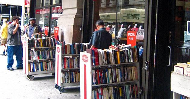Politiken.dk har en fin, fin liste over gode boghandlere i New York.