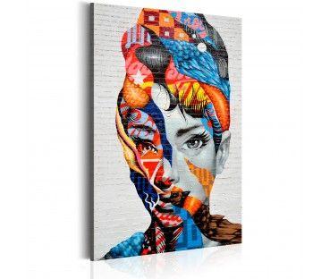 Dekorativa tavlor Liberated Woman