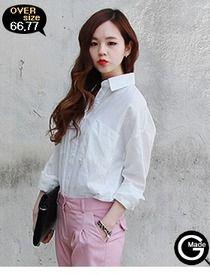 Today's Hot Pick :オーバーサイズコットンシャツ http://fashionstylep.com/SFSELFAA0013013/hkm0977jp/out GOGOSINGオリジナルシャツ☆ シンプルなコットンシャツです。 すっきりシンプルなデザインで着まわし力抜群◎ 人気のオーバーサイズトップスが華奢なシルエットを演出します。 薄手で透け感がありビーチウェアにもおすすめです!!