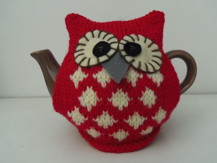 Knitting Pattern For An Owl Tea Cosy : 182 best tea cosy images on Pinterest Tea cozy, Tea ...