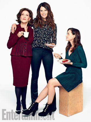 Elenco de Gilmore Girls é capa da nova edição da EW | Gilmore Girls Brasil