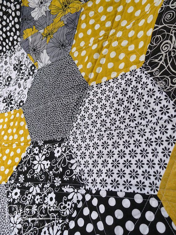 Hexies by Halves PDF Quilt Pattern For BEGINNERS by PiecesByPolly