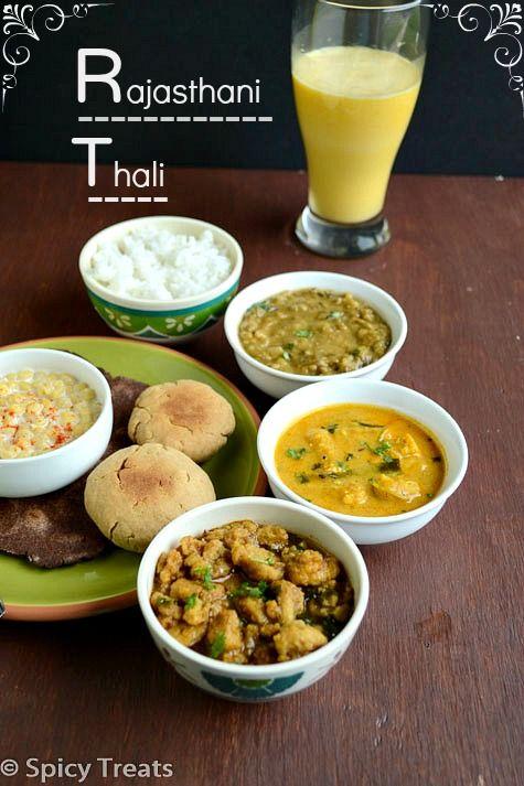 Spicy Treats: Rajasthani Thali