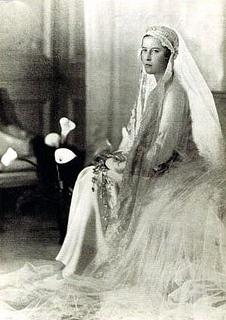 Princess Sophia of Greece and Denmark.26 June 1914-3 November 2001.Daughter of Prince Andrew of Greece & Denmark (1882-1944) & Princess Victoria Alice Elizabeth Julia Marie of Battenburg (1885-1969).House of Schleswig-Holstein-Sonderburg-Glucksburg (birth).House of Hesse-Kassel (1st marriage).House of Hanover (2nd marriage