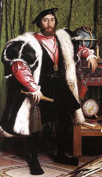 Portrait of Jean de Dinteville and Georges de Selve, Hans Holbein the Younger, 1533, Nation Gallery, London