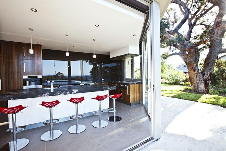Phenomenal Indoor/Outdoor Kitchen