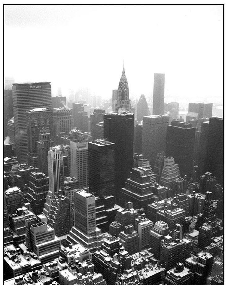Flashback friday a snow covered new york city viewed for 102nd floor empire state building
