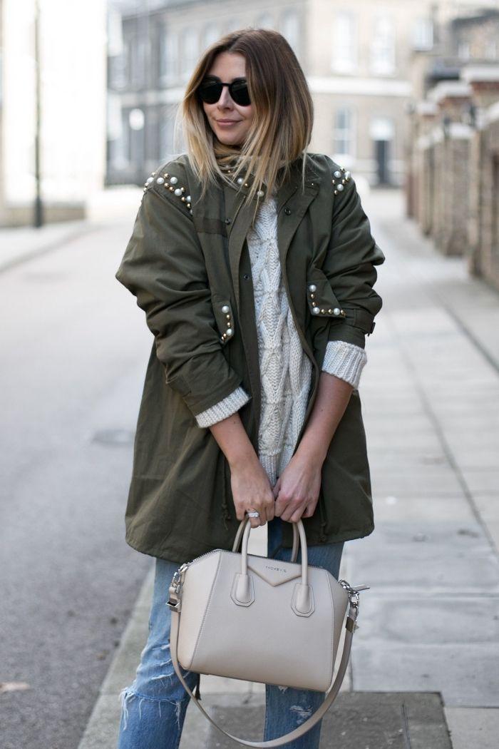 4d93eb2f1cde ▷ 1001 + idées pour la tenue avec veste kaki parfaite