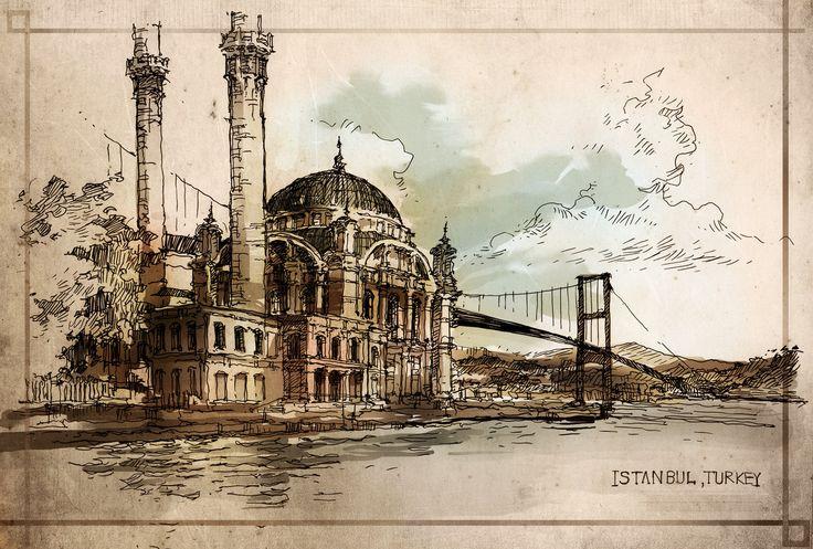 Istanbul by PinGponG83.deviantart.com on @deviantART