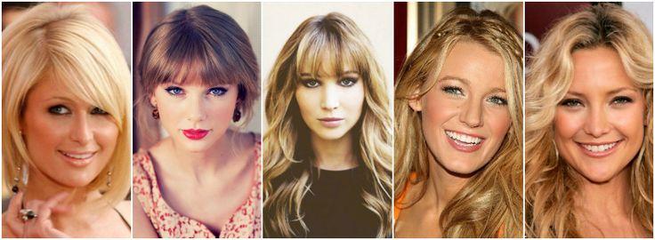 słynne jasne wiosny DELIKATNA (JASNA) WIOSNA Od lewej: Paris Hilton, Taylor Swift, Jennifer Lawrence, Blake Lively, Kate Hudson