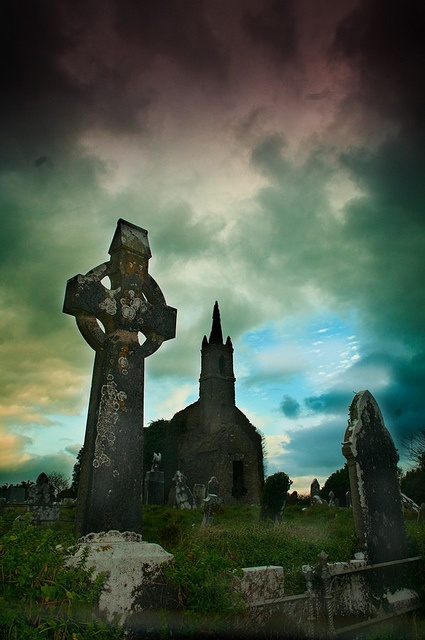 Ireland, I have a thing for old graveyards, this one make me think of pride...