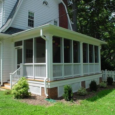 Dutch Colonials Design Pictures Remodel Decor And Ideas Screened Porch Designs Porch Design Decks And Porches