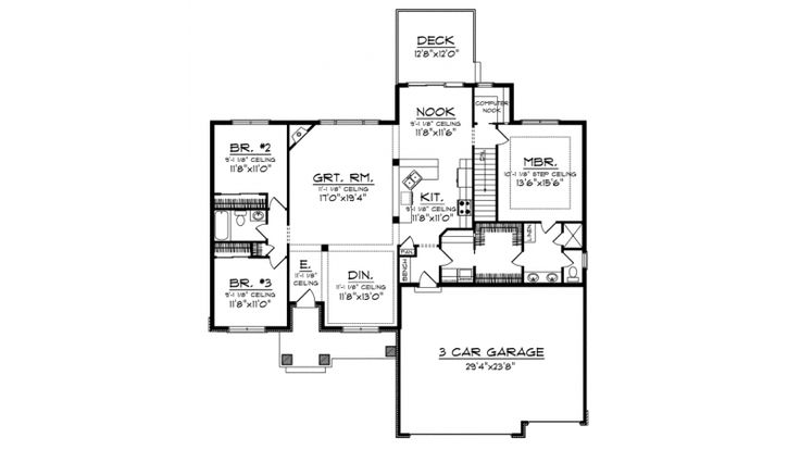 155 best house plans 1800 2200 sq ft images on pinterest for House plans 1800 to 2200 sq ft