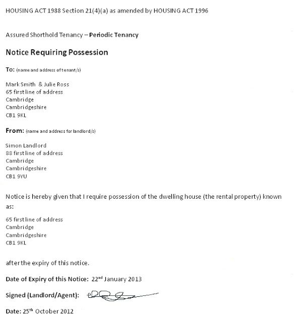 Long Term Tenancy Agreement Template Being A Landlord
