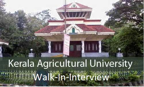 Kerala Agricultural University-KAU-Recruitment-Teaching Assistant-4 vacancies-Pay Scale : Rs 35000/-Walk-in-Interview on 23 November 2016  Job Details :  Post Name : Teaching Assistant No. of Vacancies : 04 Posts Pay Scale : Rs 35000/- (Per Month) Eligibility Criteria :  Educational Qualification :