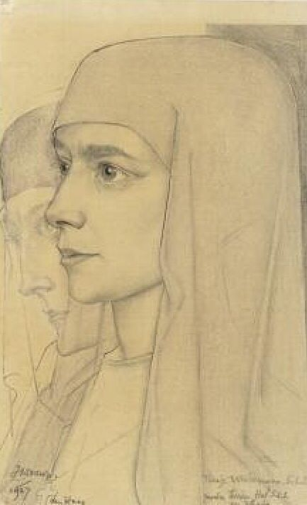 .by Jan Toorop (Dutch 1858 - 1928)