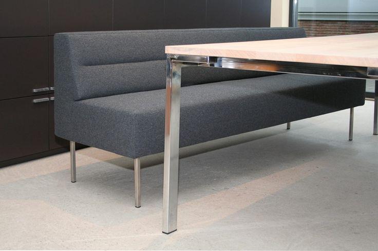 Escape eettafelbank New Comfort 583 antraciet - Designsales.nl
