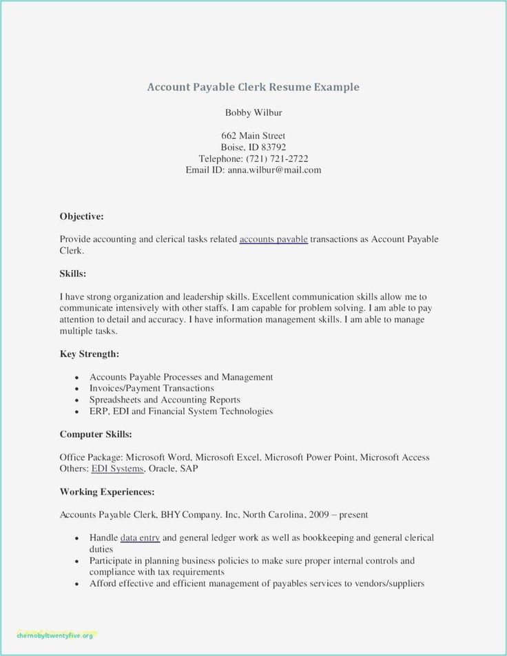 25 General Ledger Accountant Resume in 2020 Job resume