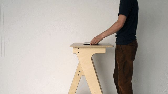 A Standing Desk For Kids, To Help Change Sitting Culture (There's An Adult Size, Too) | Co.Exist | ideas + impact