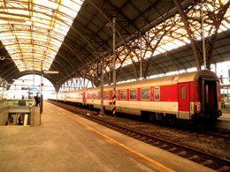 Czech Republic Train in Prague