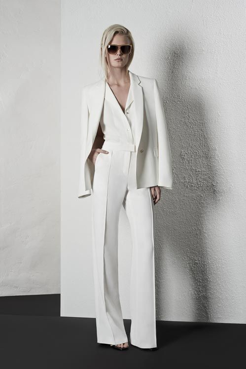 Best 25  White suits ideas on Pinterest | Pant suits, White pant ...
