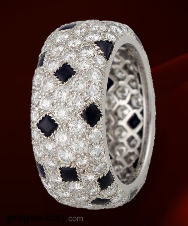 Cartier - Diamonds and sapphires