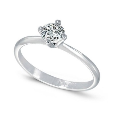 Ring White gold 14k Diamonds