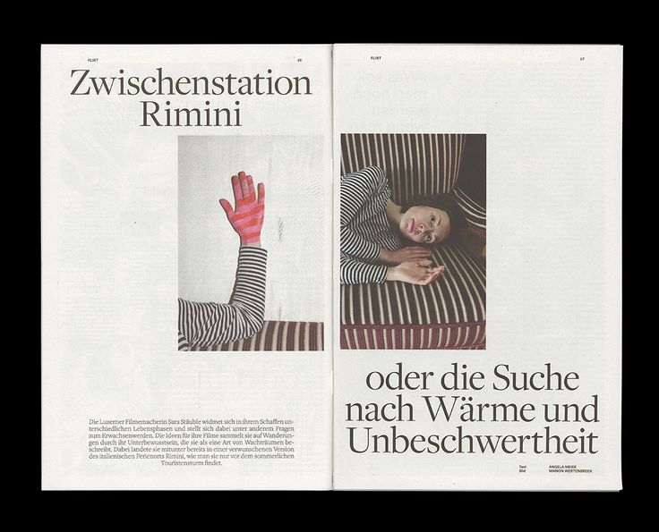 Vier Mal im Jahr erscheint das Young Swiss Magazine für Member. Der redaktionel…