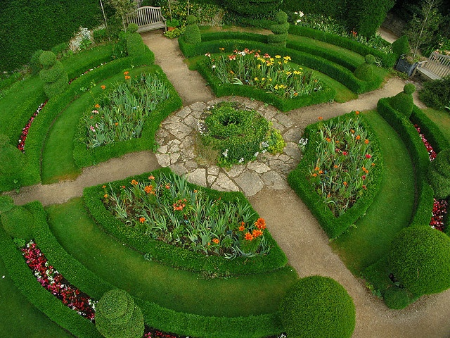 mandala kitchen garden abbey house gardens the abbey house malmesbury