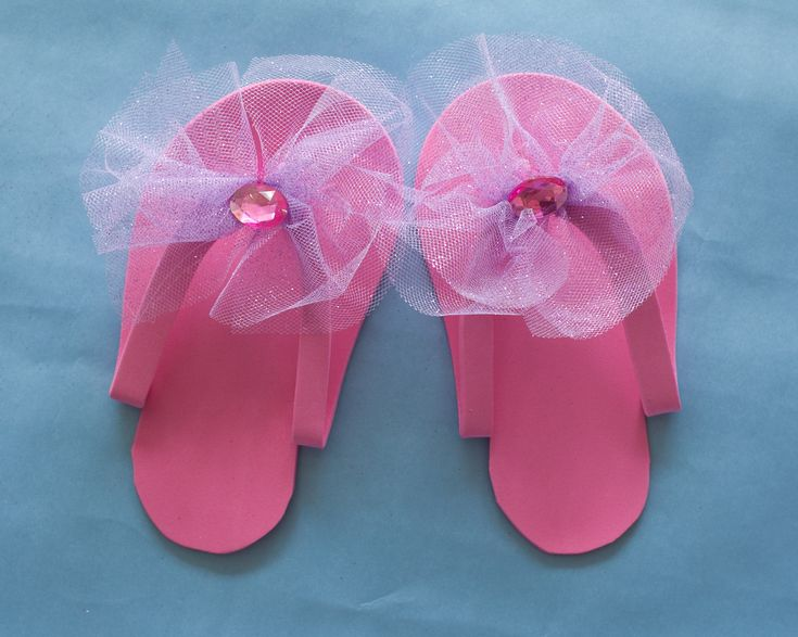 pedicure slippers tutorial-8