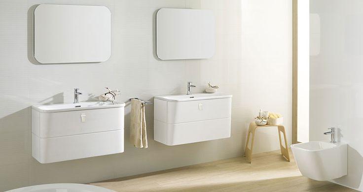 Ba os porcelanosa lovely clean finish similar sink units - Porcelanosa azulejos bano ...
