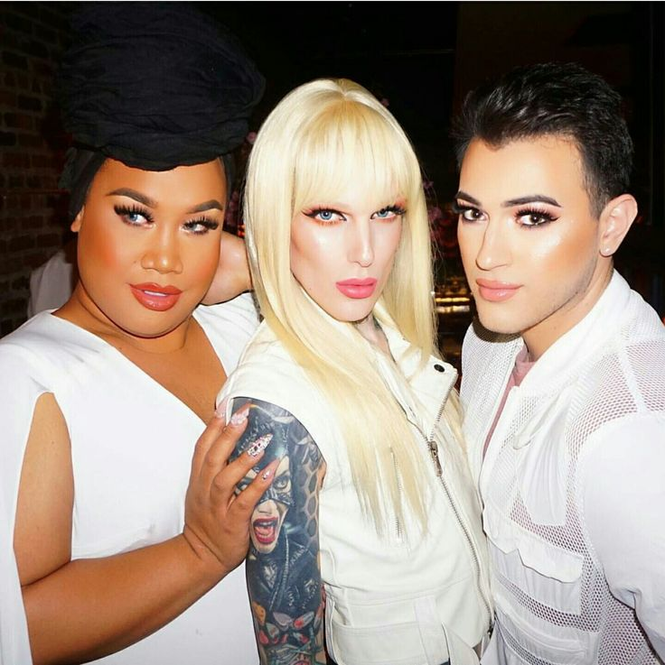 Patrick Starr,  Jeffree Star and Manny Mua
