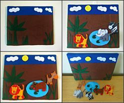 My personal zoo: Felt art wall hanging & activity/play board  Zoo Market Night opens at 9pm AEDST, on Tuesday 4th March, 2014 The first person to comment sold will be able to purchase the item direct from the business listed on the item.