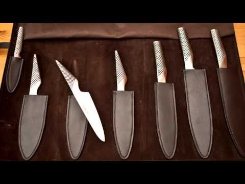 ▶ Leather Knife Roll - YouTube