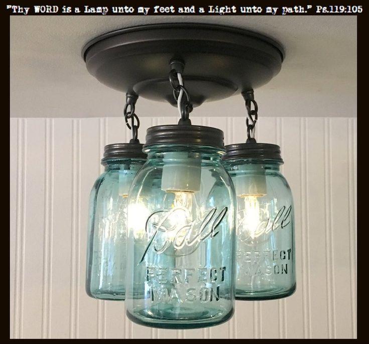 25+ unique Mason jar lamp ideas on Pinterest | Mason jar ...