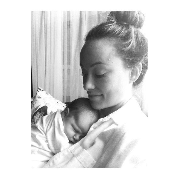 Olivia Wilde teilt s��es Foto von Baby Daisy