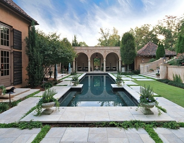 Courtyard pool by mcalpine tankersley