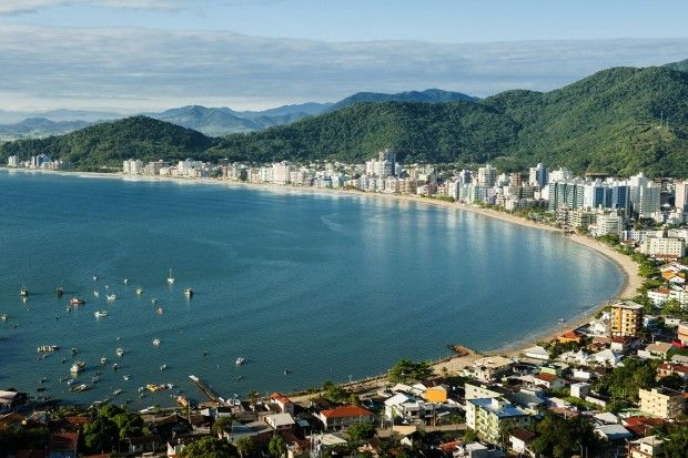Praia Central e Meia Praia (foto: divulgação/Governo do Estado de Santa Catarina)