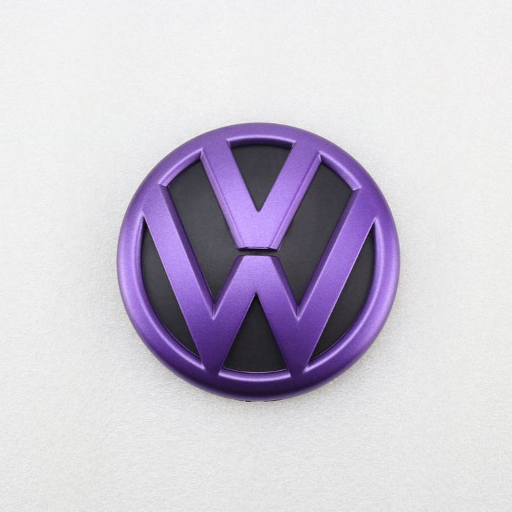 Purple Black Rear Trunk Lid Emblem Badge Replacement for VW Volkswagen Jetta MK6