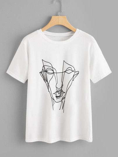 de64444ccbef Buy Abstract Graffiti Print Tee