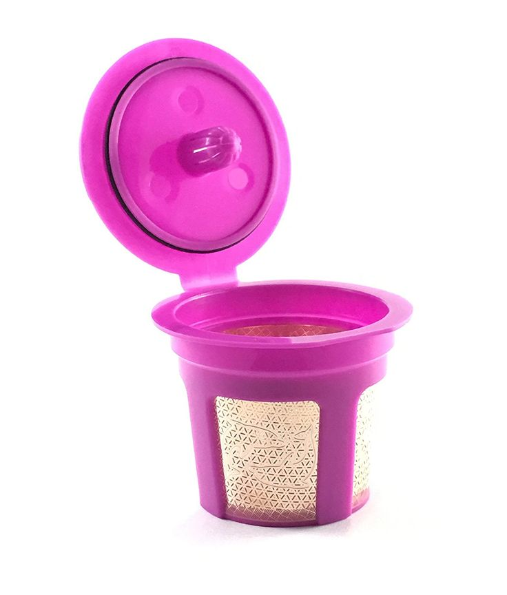 Premium 24K Gold Reusable K-Cup Filter for Keurig 2.0 / 1.0 Series Small Single Serve Coffee Machine K Cup ** More info could be found at the image url.