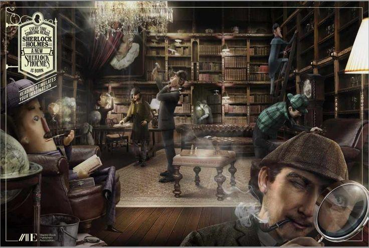 Madrid Book Publishers Association: Sherlock