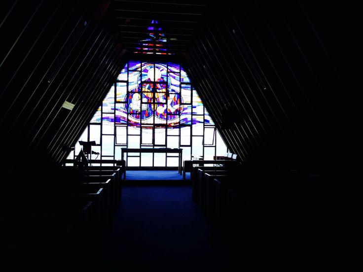 Nurses War Memorial Chapel, Little Bay, Sydney. This nondenominational chapel is the perfect building for a wedding or funeral.