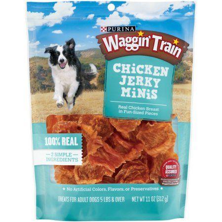 Purina Waggin Train Chicken Jerky Minis Dog Treats 11 Oz Pouch