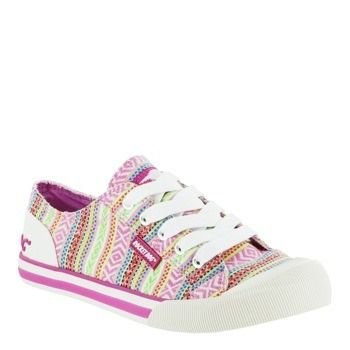 Rocket Dog Canvas Pink Cancun Jazzin Sneaker - Rocket Dog