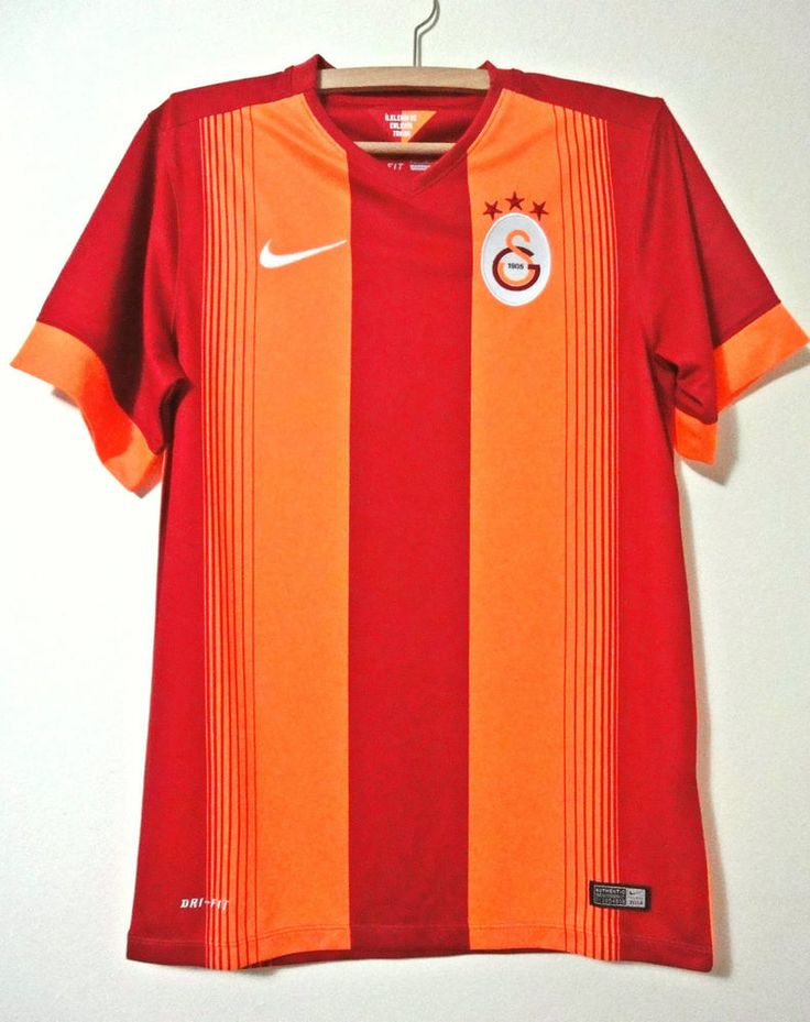 NEW Galatasaray tişört Turkey shirt jersey trikot nike home 2014 - 2015