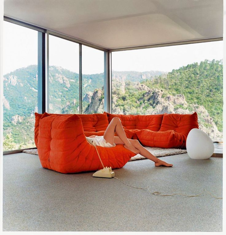 Togo by ligne roset jetzt pinterest mobilier for Decoration exterieur contemporain